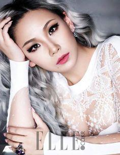 2NE1's CL looks stunning in bright led lipstick for 'Elle' + she reveals secret expertise   allkpop