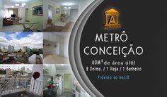 Apartamento de 2 dorms 1 vagas, Conceição - São Paulo, Metrô Conceição,  São Paulo, Alenkar - Empreendimentos Imobiliários de Alto Padrão. www.alenkar.com.br