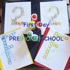 Teach Through Play: First Day of Preschool