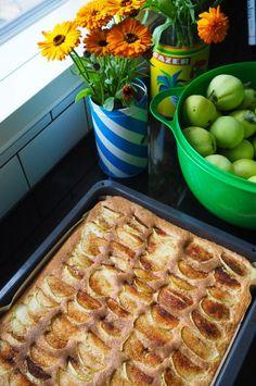 Mehevä-omenapiirakka