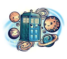 Doctor Who t-shirt mashups and pop culture references featuring Tardis, the Phone Booth, timey wimey designs, and the Doctor. All products are designed by independent artists and Dr Who fans. Doctor Who Tattoos, Doctor Who T Shirts, Magic Johnson, Cultura Pop, Desenhos Doctor Who, Akira, Serie Doctor, 12 Doctor, Doctor Who Wallpaper