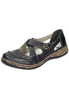 4fb9a5d9c83707 Rieker women slipper Black size 370 EU -- Trust me