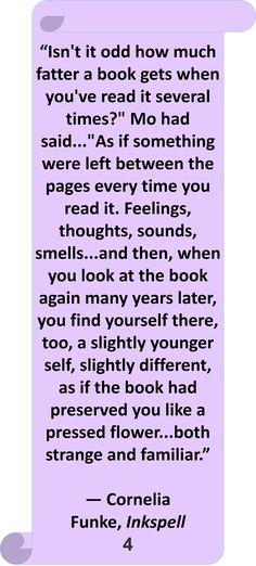 Cornelia Funke, Inkspell #Quote #Author #Reading