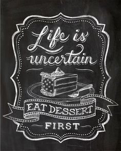 Chalk Art Chalkboard Lettering Calligraphy Cafe Art by annasee