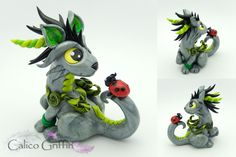Clay griffins, dragons, foxes and more! www.calicogriffin.deviantart.com and www.calicogriffin.etsy.com. Also available on facebook!