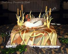 Shadow Grass Camouflage Cake - 2
