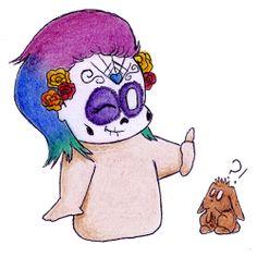 [Re]belle mais pas cruelle : Des fards à paupières vegan au packaging Halloween ! www.darkrevette.com