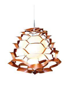 Leather lamp Tate @ Rave