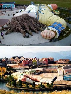 Gulliver's Kingdom in Japan - This place looks like it was so amazing. So sad to see it abandoned...