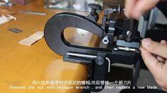 Maquina de rebajar piel y cuero CB809