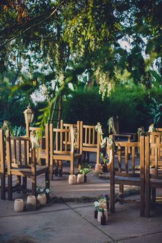 garden wedding ceremony, photo by Jackie Wonders http://ruffledblog.com/sweet-dreams-inspired-shoot #outdoorwedding #gardenwedding