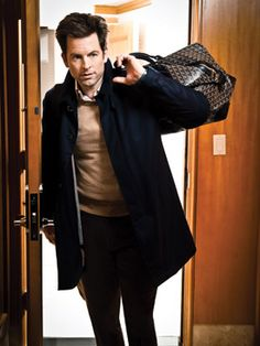 The Young & the Restless star Michael Muhney for Watch! Magazine