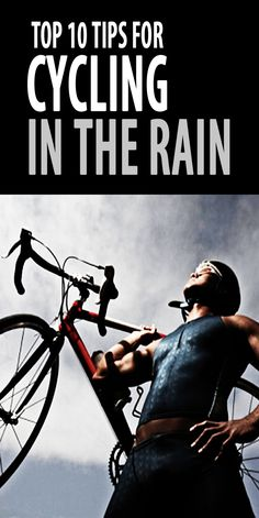 Cycling in the rain and wet weather can be fun! Here are our top ten tips… #cyclingtips #cyclingadvice #cyclingintherain