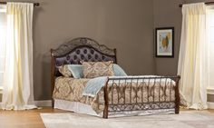 Hillsdale Furniture 1120BQR Hyde Park Bed Set - Queen - with Rails