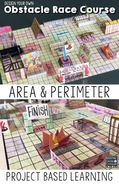 Let students learn how math concepts are connected to the real-world as they design their own OBSTACLE RACE COURSE! Focusing on Area and Perimeter means--Math is everywhere in this project based learning activity (PBL). Designing, creating, and problem solving are key features of this resource. Design An Obstacle Course! $