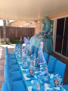 Disney Frozen Birthday Party Ideas   Photo 7 of 10   Catch My Party