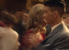 Tommy and Grace Dancing http://youknowcillian.tumblr.com/