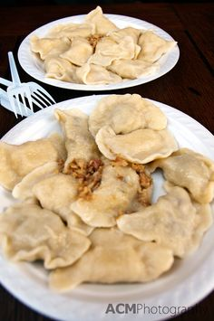 Pierogi Heaven in Krakow, Poland | CheeseWeb You can even find Veggie/Dessert Pierogi in the old Jewish district of Krakow! (Sue added)