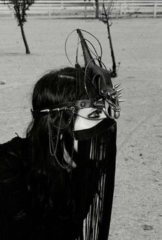 Chelsea Wolfe in Noir Sisters of the Black Moon Dress Aves...