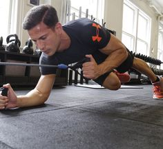 Get a ripped six-pack and strength your core with these six exercises.