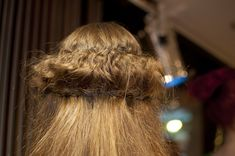 Here's something for those who love crafting and hairstyling. Hair sewing is a technique that replaced bobby pins for upstyles that stay all day (and night). It also allows you to create more unusual styles where pins wouldn't work.