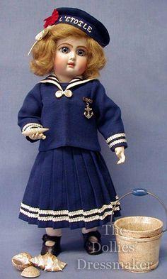 Premiere Bleuette ~ Nadine - The Dollies' Dressmaker