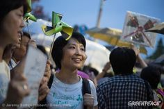 Japanese public protest against nuclear energy policies. Will we soon have to do the same thing in South Africa?