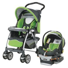 Chicco Cortina® KeyFit® 30 Travel System. Best Infant car seat per Consumer Report. Stroller rated highly, easy to fold and unfold. $329 at Target.