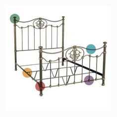 Twin Millennium Bed Frame by Wesley Allen for guest room
