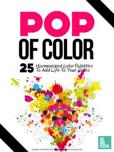 Pop Of Color - Free eBook by We Are Visual