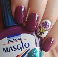 Las Locuras de Ahyde : Nal Art Masglo a Mano Alzada Nail Art, Nails, Beauty, Simple Toe Nails, Cute Nails, Leopard Nails, Cat Nails, Finger Nails, Ongles