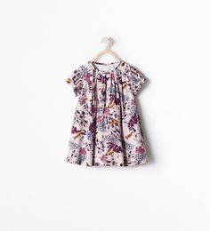 ZARA - KIDS - PRINTED DRESS