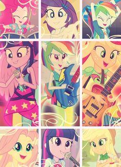 #TheRainbooms - Equestria Girls Rainbow Rocks