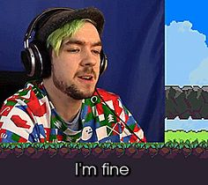 "jacksepticeyegifs: ""When I am in a public place """