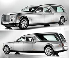 Rolls Royce Phantom Hearst B12 - most expensive funeral car - 662,000 dollars.