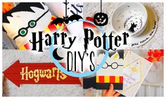 EASY HARRY POTTER DIY'S / Potterweek | ItzSannyz