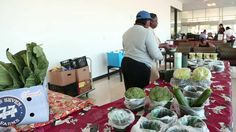 A primary care doctor worked with community members and created a unique method to bring healthy, affordable foods to clinic patients: A farmers' market right at the door of the doctor's office lobby.