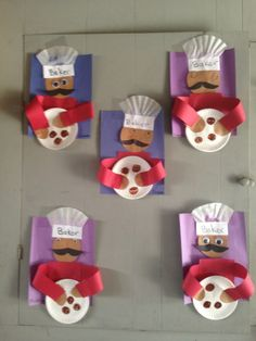Preschool Fun community helpers: Baker (just the image for inspiration)