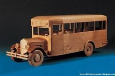 The Art MakerS: Wood Sculptured Vehicles