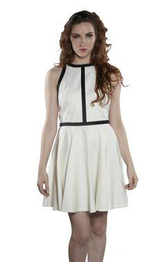 BB Dakota Jamila Black & White Dress