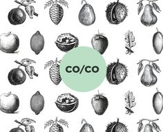 CO/CO Cosmetics branding. By Tatabi Studio, Dublin.