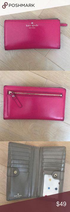 Kate spade wallet Pink kate spade wallet kate spade Bags Wallets