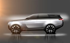 Land Rover / Range Rover / free sketch on Behance