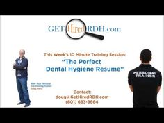 How to Create the Perfect Dental Hygiene Resume - Dental Hygiene Resumes - Samples, Tips, Ideas and More