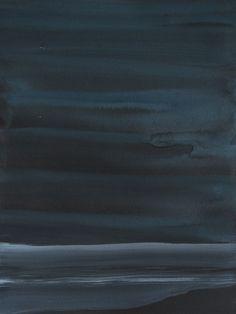 Koen Lybaert - Cierva Cove - watercolor/gouache on paper [40 x 30] / 2013
