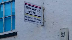 A Male Waxing, Male Grooming, Signage, Lifestyle, Billboard, Signs
