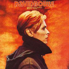 Calendario David Bowie, 2017. 18 meses  Calendario de 18 meses para el 2017 con varias imágenes del polifacético David Bowie.