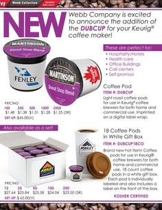 New for Your Kuerig Coffee Maker