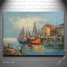 Resultado de imagen para cuadros de barcos en oleo