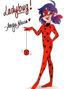 Miraculous Ladybug by Angie Nasca <3
